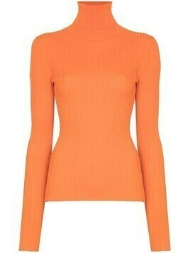 Dodo Bar Or Stacy ribbed-knit jumper - Orange