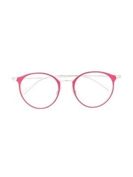RAY-BAN JUNIOR round frame glasses - PINK
