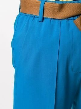 Alysi slim-fit trousers - Blue