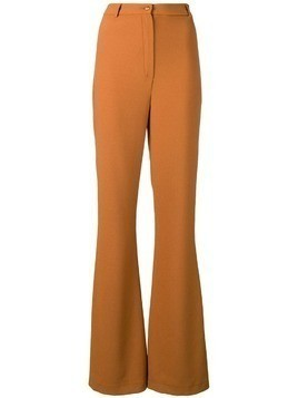 Hebe Studio Bianca trousers - Brown