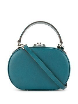 Mark Cross Gianna oval box bag - Blue