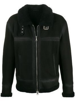 Drome shearling lined jacket - Black