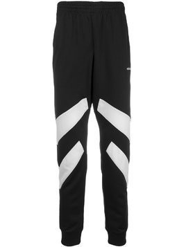 Adidas panelled sweatpants - Black