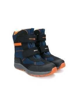 Geox Kids touch-strap boots - Blue