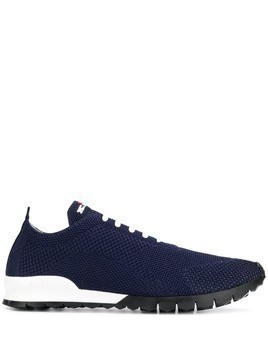 Kiton lace-up sneakers - Blue