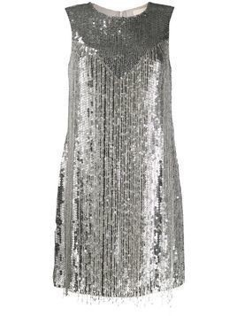 Aniye By sequin fringe dress - Grey