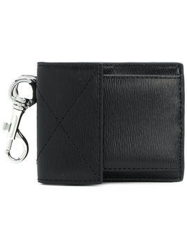 Versus - key fob cardholder wallet - Herren - Calf Leather - One Size - Black