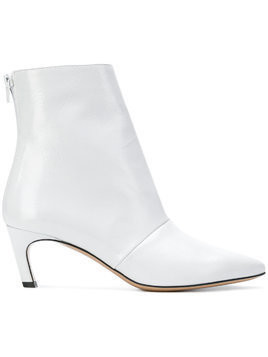 Marc Ellis pointed toe boots - White