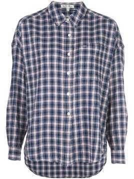 Alex Mill checked loose-fit shirt - BLUE