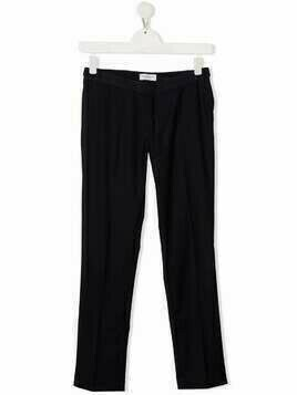 Paolo Pecora Kids TEEN straight-leg trousers - Blue