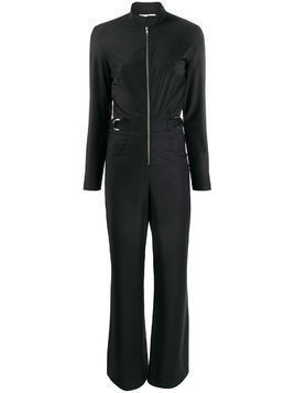 Carolina Ritzler zip front jumpsuit - Black