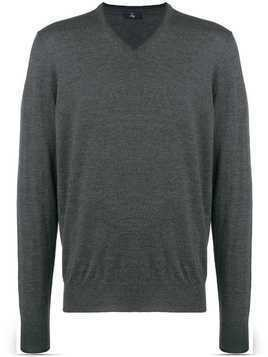 Fay V-neck pullover - Grey