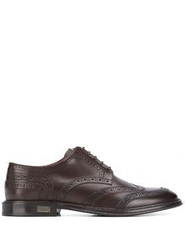 Dolce & Gabbana classic brogues - Brown