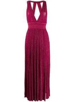 Antonino Valenti plunging maxi dress - Pink