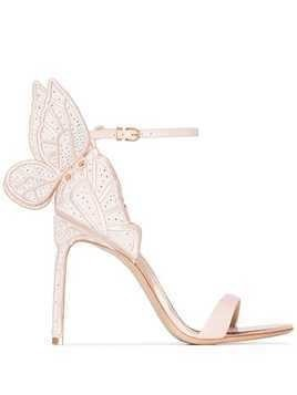 Sophia Webster Chiara butterfly sandals - Neutrals