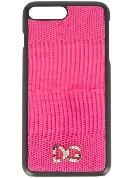 Dolce & Gabbana logo iPhone 7 Plus cover - PINK