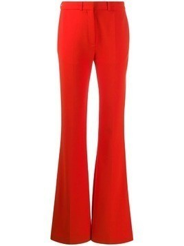 Victoria Victoria Beckham split hem flared trousers - ORANGE