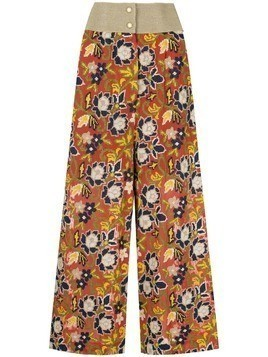 Muller Of Yoshiokubo Abiquiu wide pants - Orange