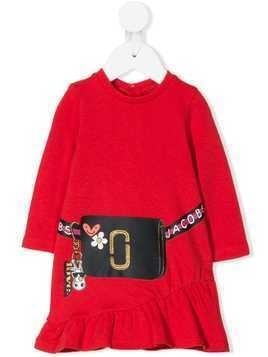 Little Marc Jacobs Snapshot print dress - Red
