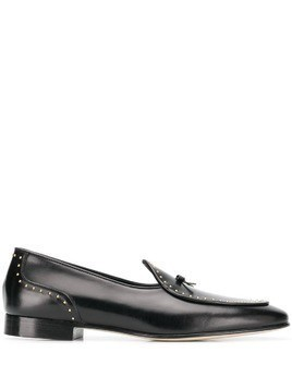 Edhen Milano studded loafers - Black