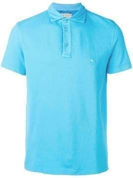Borrelli short sleeve polo shirt - Blue