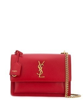 Saint Laurent Sunset cross-body bag - Red
