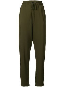 3.1 Phillip Lim tailored track pants - Green