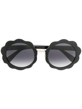 Kate Spade round sunglasses - Black
