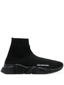 Balenciaga Speed stretch-knit sneakers - Black