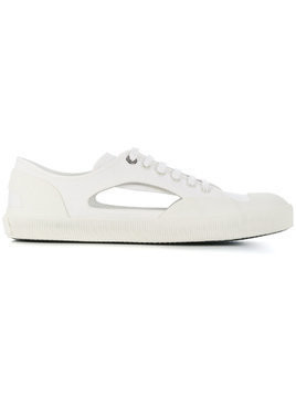Lanvin classic low-top sneakers - White