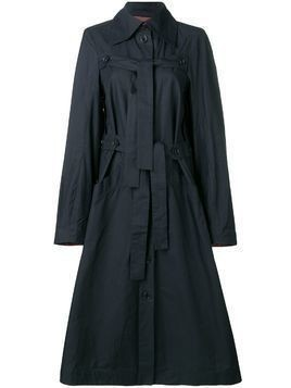 Henrik Vibskov Onion trench coat - Blue