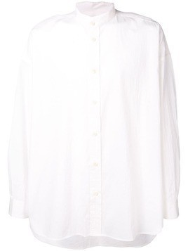 Damir Doma loose fit band collar shirt - White