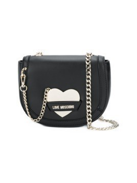 Love Moschino heart shoulder bag - Black