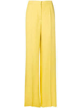 Rochas classic flared trousers - Yellow