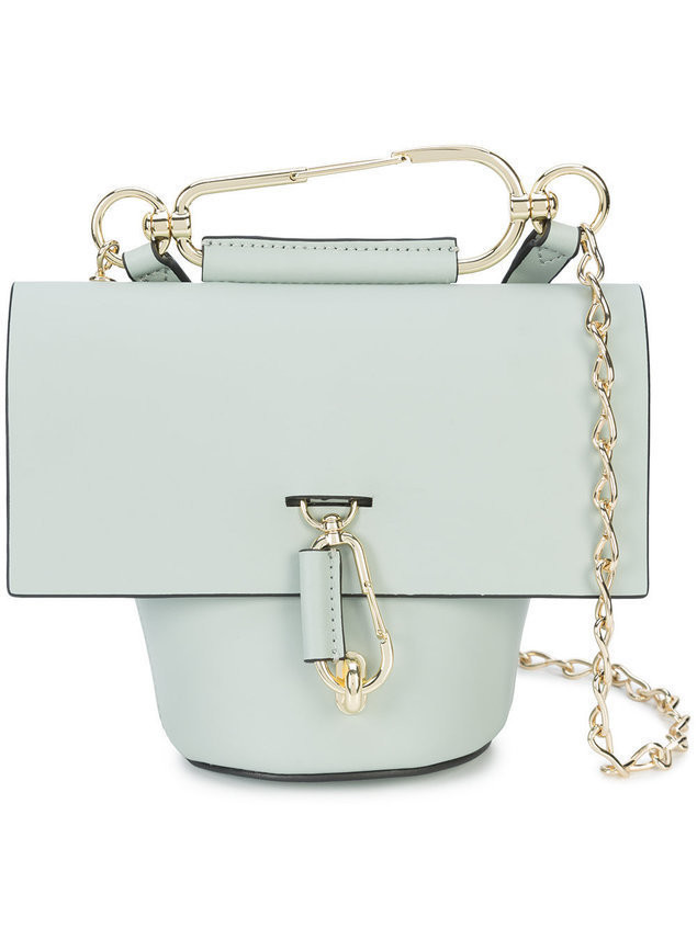 Zac Zac Posen Belay Chain crossbody bag - Grey