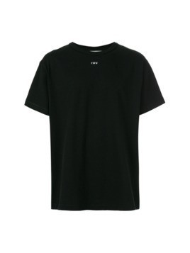 Off-White big checker T-shirt - Black