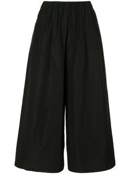 Dusan wide leg trousers - Black