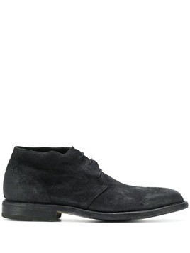Fiorentini + Baker ankle lace-up boots - Black