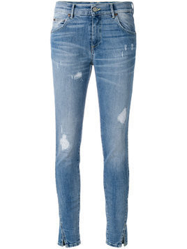 Htc Los Angeles distressed skinny jeans - Blue