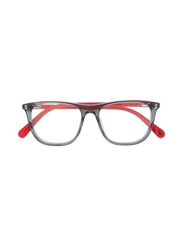 Stella McCartney Kids two tone glasses - Red