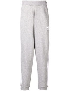 Adidas 3-stripes track trousers - Grey