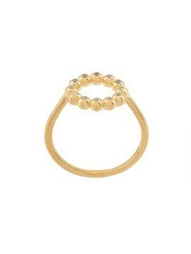 Astley Clarke Sapphire Beaded Stilla Arc ring - Gold