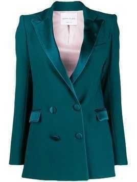 Hebe Studio double breasted blazer - Green