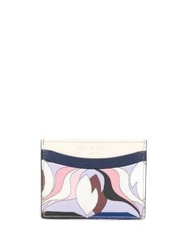Emilio Pucci printed card holder - PINK