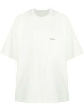 OAMC Clarity graphic-print T-shirt - White