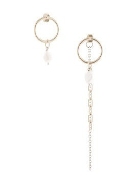 Justine Clenquet Courtney earrings - SILVER