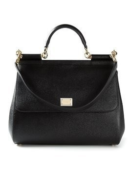 Dolce & Gabbana large Sicily shoulder bag - Black