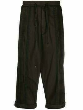 Army Of Me drop-crotch drawstring trousers - Green