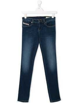 Diesel Kids TEEN slim-fit jeans - Blue