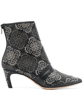 Marc Ellis studded ankle boots - Black